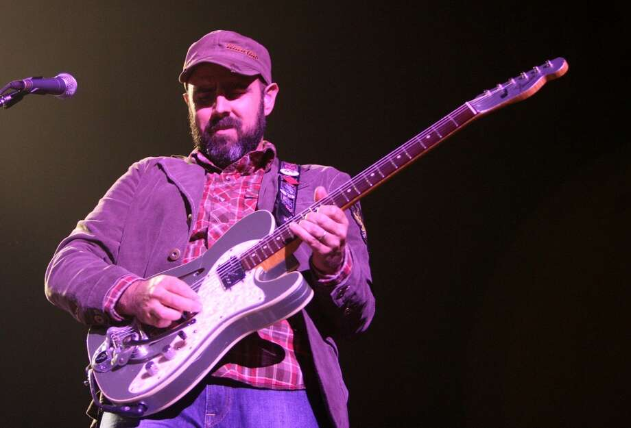 Musician Al Schnier of the band moe. performs during the Vegoose Music Festival at the Hard Rock Hotel in Las Vegas on Oct. 26, 2007. The band stops at Ives Concert Park in Danbury on Saturday, June 1.