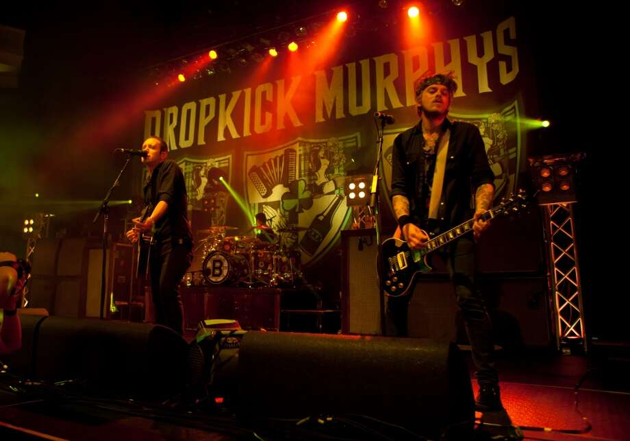 Dropkick Murphys perform in concert  at Hollywood Palladium in Los Angeles on Oct. 15, 2011. The band stops at Ives Concert Park in Danbury on Thursday, Aug. 22.