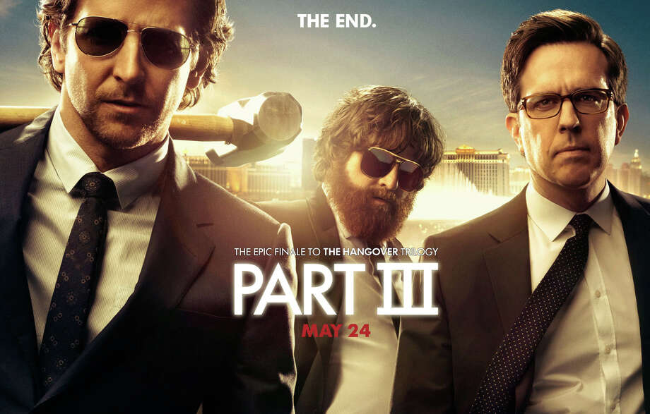 """""""The Hangover, Part III"""" is now playing in area movie theaters. Photo: Contributed Photo / Westport News contributed"""