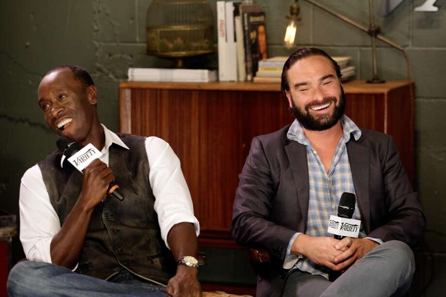 Don Cheadle and Johnny Galecki.