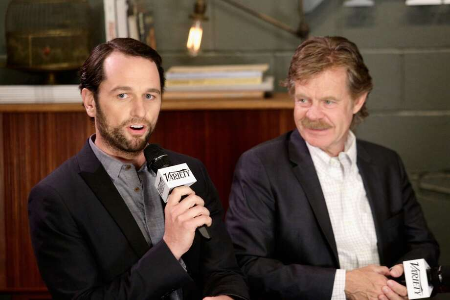 Actors Matthew Rhys ('The Americans') and William H. Macy.