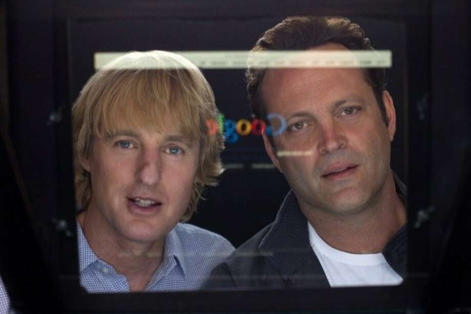 Owen Wilson (left) and Vince Vaughn play guys who talk their way into Google's internship program. Photo: 20th Century Fox