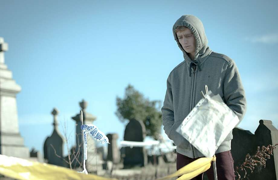 Luke Newberry plays a teenager who comes back from the dead after killing himself. Photo: Des Willie, BBC
