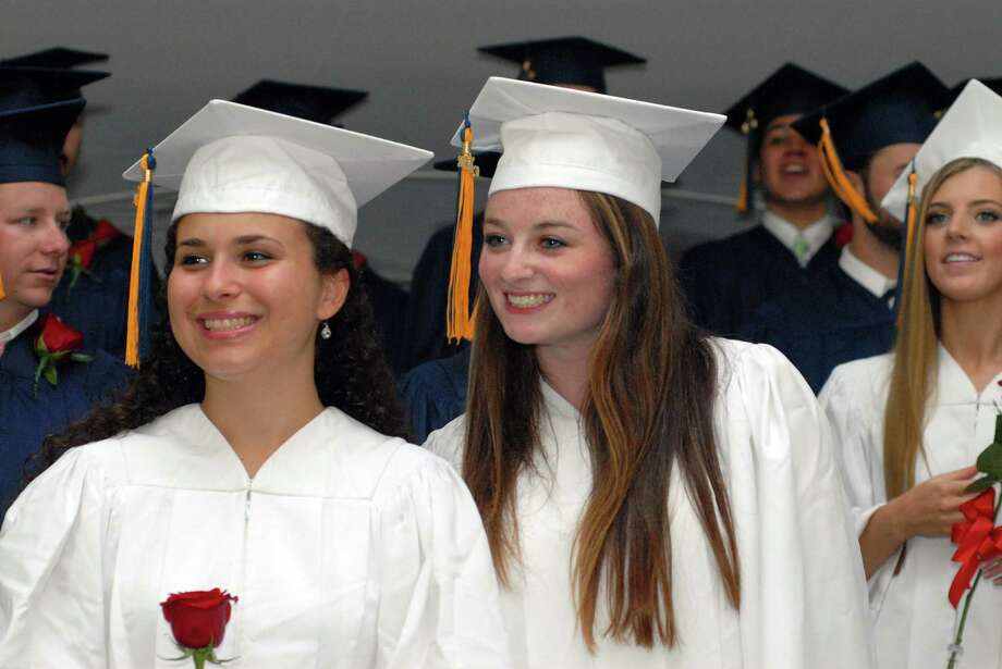 KIng Low Heywood Thomas high school graduation commencement in Stamford, Conn. on Friday May 31, 2013. Photo: Dru Nadler / Stamford Advocate Freelance