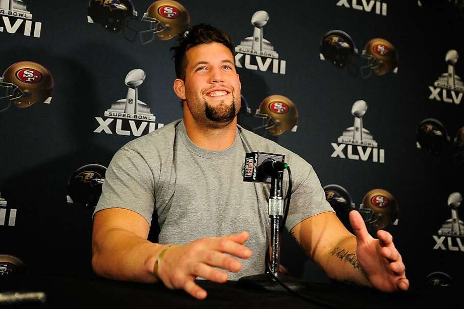 Alex Boone, a 6-foot-8, 300-pound guard, became a starter in his fourth season. Photo: Stacy Revere, Getty Images