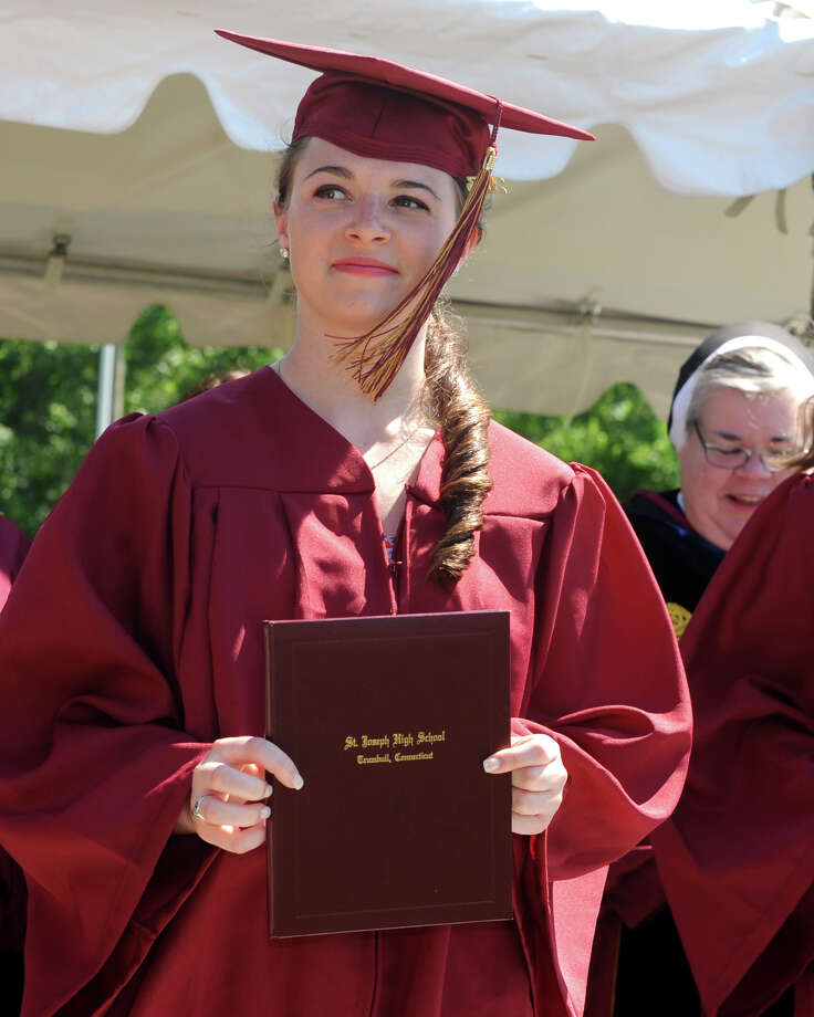 Graduation for the St. Joseph High School Class of 2013, in Trumbull, Conn., June 1st, 2013 Photo: Ned Gerard / Connecticut Post