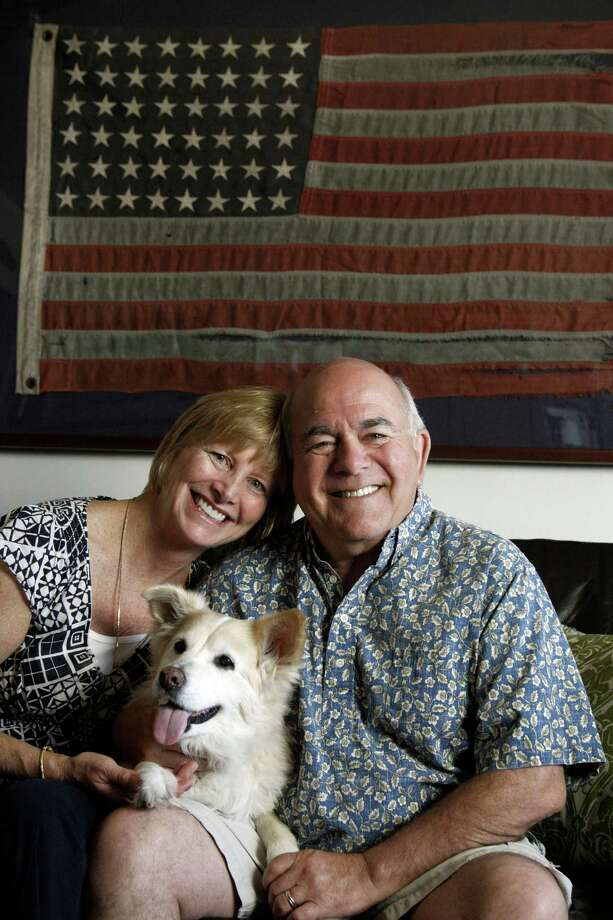 Baby boomers Susie Martin, 54, and Patrick Webster, 63, at their home in Redondo Beach, California, on May 13, 2013. Together they have more than $1 million in investments and no debt. But rather than feeling reasonably secure about their financial future, they dread a return of hard times. (Gary Friedman/Los Angeles Times/MCT) Photo: Gary Friedman / Los Angeles Times