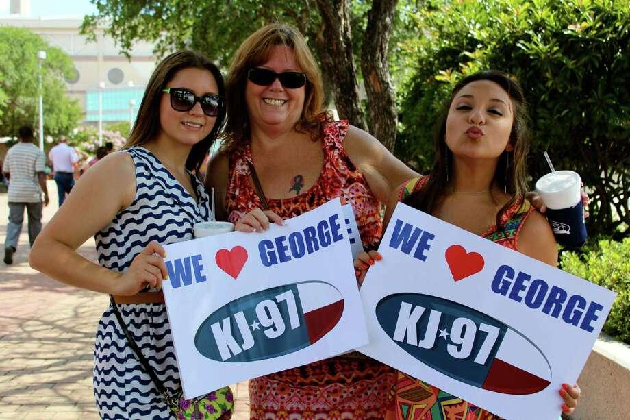 mySpy: The George Strait Concert at the Alamodome on Saturday, June 1, 2013. Photo: Yvonne Zamora / San Antionio Express-News