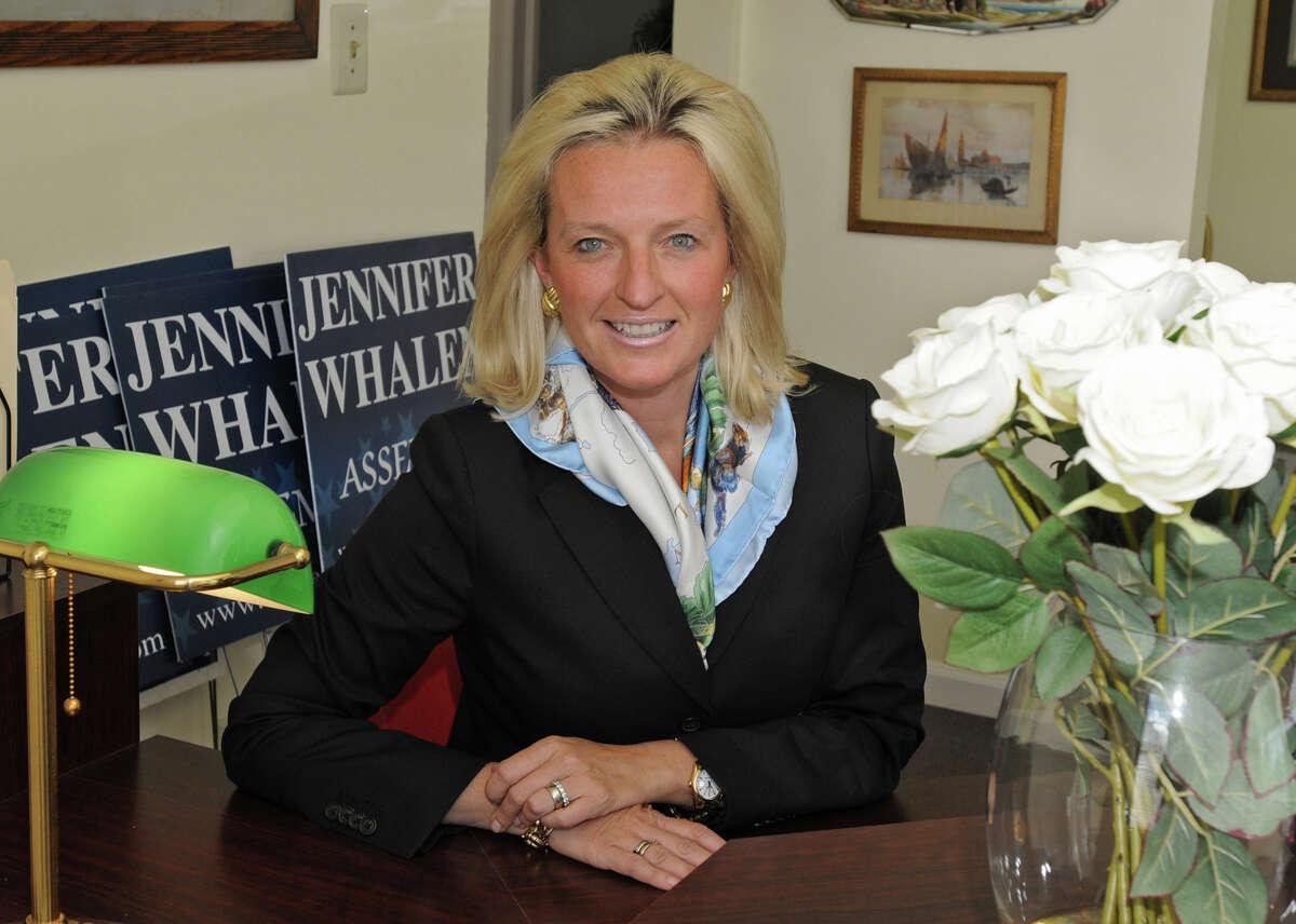 Jennifer Whalen is seen in 2010 when she ran for Albany County Clerk. (Lori Van Buren / Times Union)