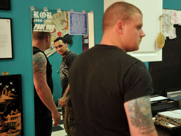 State considers licensing tattoo artists greenwichtime for Tattoo artist license