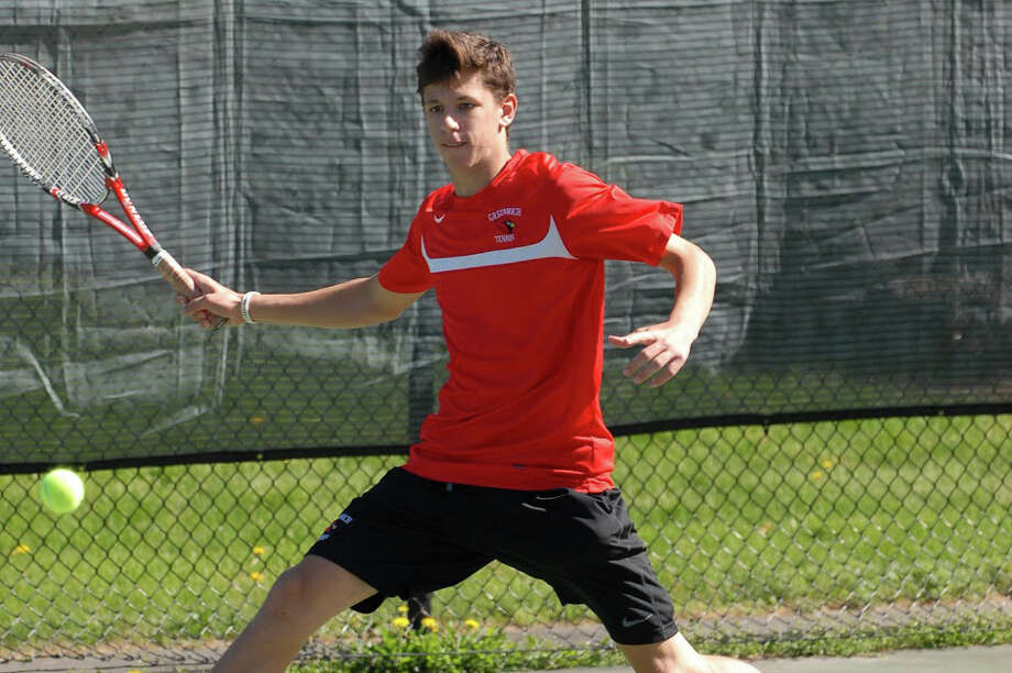 Chris Salisbury and the rest of the Greenwich boys tennis team captured the Class LL championship Saturday. Details on Page B2 Photo: Contributed Photo