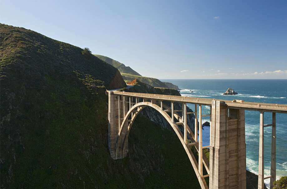 The body of a BASE jumper who tried to save his girlfriend after a tragic jump from Bixby Bridge in Big Sur was identified this week. Photo: Doug Steakley, Lonely Planet Images