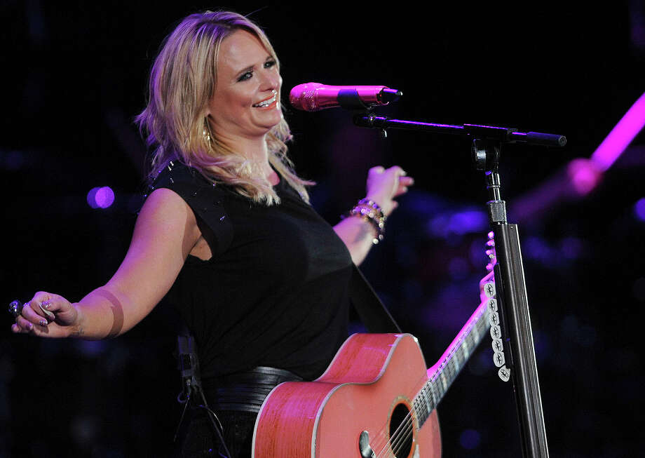 "MIranda Lambert plays before George Strait's ""The Cowboy Rides Away"" tour stop in the Alamodome on Saturday, June 1, 2013. Photo: San Antonio Express-News / San Antonio Express-News"
