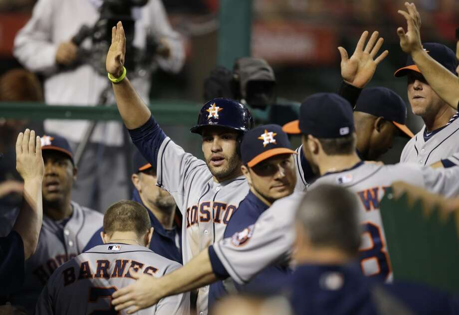 May 31: Astros 6, Angels 3 Houston continued to be a thorn in the side of Los Angeles.  Record: 18-37. Photo: Jae C. Hong, Associated Press
