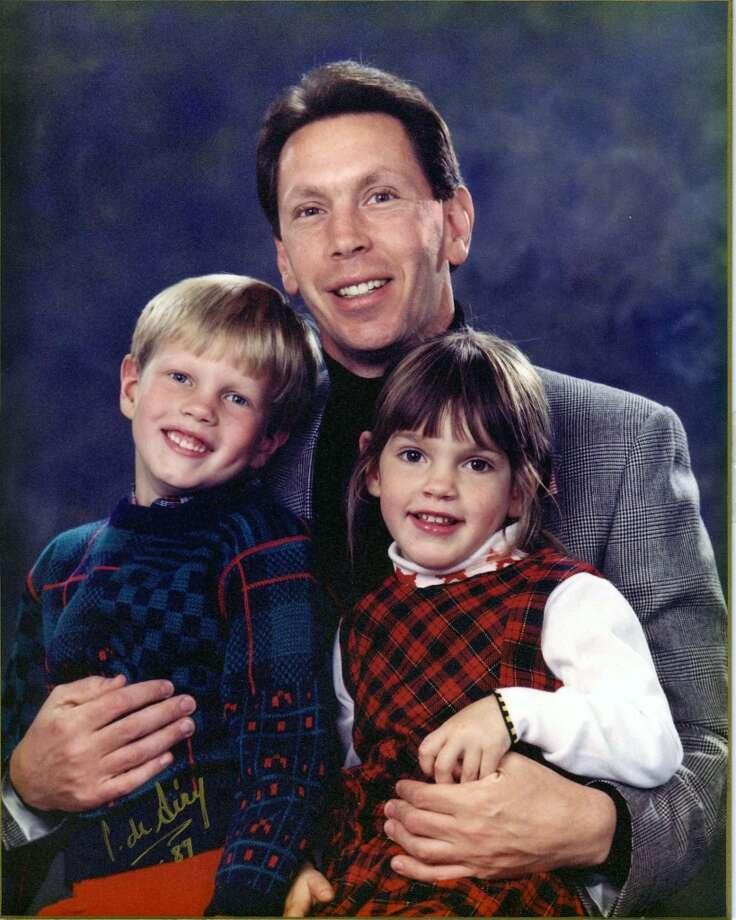 Larry Ellison and his children.
