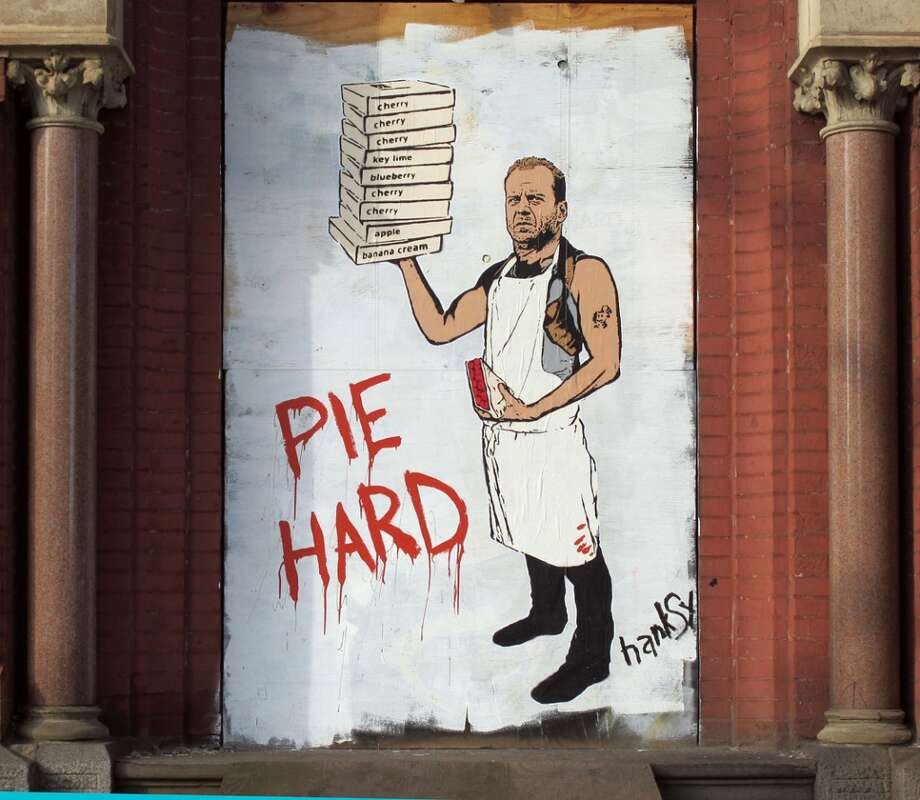 """""""Pie Hard"""" Photo courtesy of Hanksy.com"""