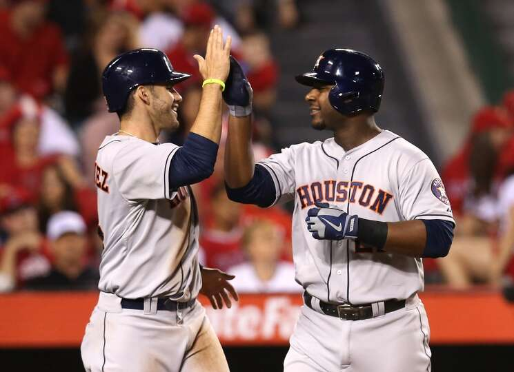 June 1: Astros 2, Angels 0 A home run from Chris Carter helped the