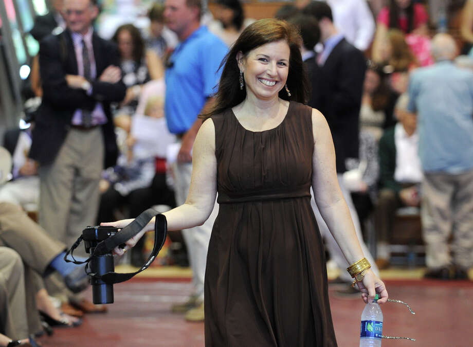 State Senator Gail Slossberg, D-Milford, attends the graduation of her son, Alex Slossberg, at Fairfield Prep in Fairfield, Conn. on Sunday, June 2, 2013. Photo: Brian A. Pounds / Connecticut Post