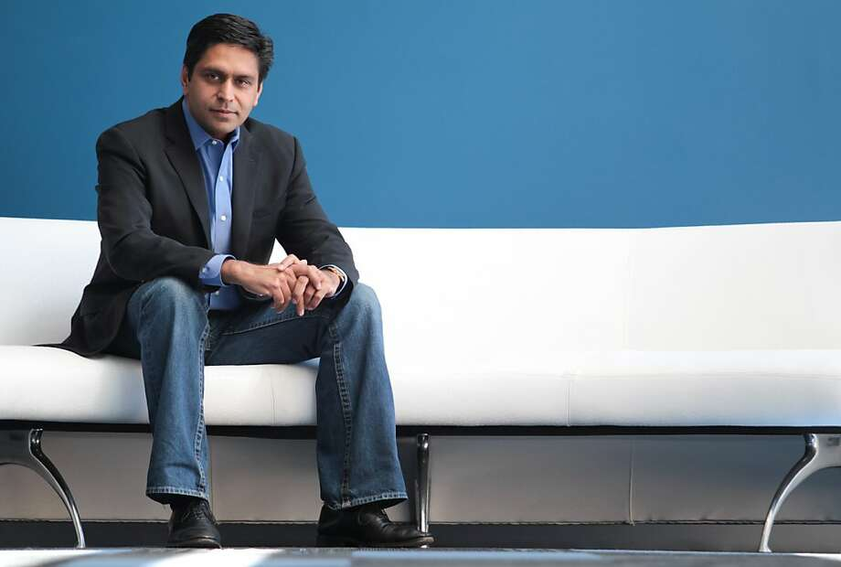Neeraj Gupta, CEO of Systems in Motion in Newark, Calif., used to work for tech-worker outsourcing firms but now is training U.S. workers for tech jobs. Photo: Mathew Sumner, Special To The Chronicle