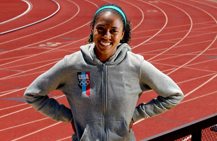 Stanford's Kori Carter is ranked in the top 10 in the world in both the 400- and 100-meter hurdles. Photo: Lance Iversen, The Chronicle