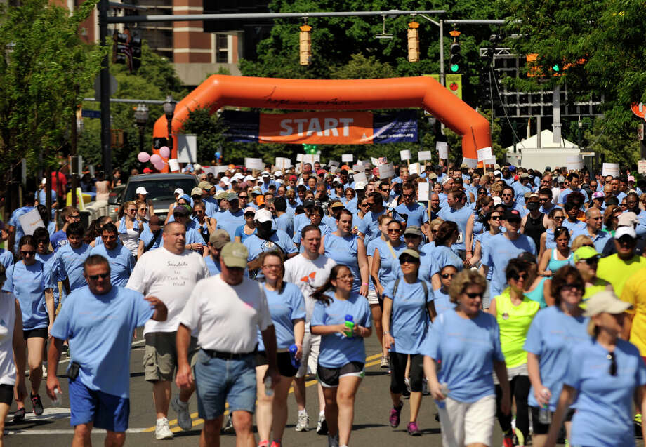 The annual Hope in Motion fundraiser is coming to Stamford on Sunday, turning the city's downtown into a living race course in the hopes of raising $1 million for the Bennett Cancer Center. Find out more.  Photo: Jason Rearick / Stamford Advocate