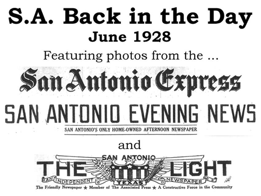 We've combed through the San Antonio Express, San Antonio News and San Antonio Light archives to bring you the best photos from the Alamo City 85 years ago, for the most part using the original photo captions, with exceptions to provide more information. Enjoy! Compiled by Merrisa Brown, mySA.com.