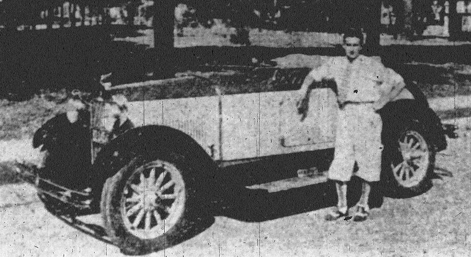 S.T. Browne Motor Car Company delivered the above Essex roadster, the first of the new models to be delivered to San Antonio. It is a newcomer to the Essex line and proving popular. Published in the San Antonio Express June 10, 1928. Photo: File Photo