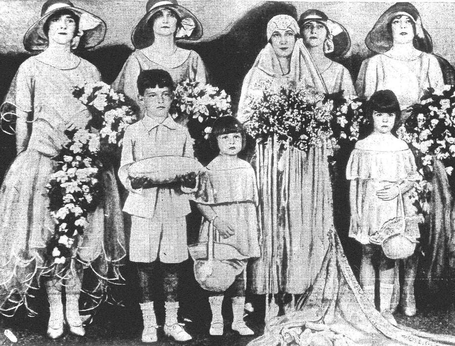 The Frieden's Evangelical Church was the scene Tuesday evening of a pretty wedding, when Miss Olga Kariger, daughter of Mrs. E. Kariger, became the bride of Ernest Walter Schiefelbein. Rev. J.O. Polster read the ceremony. Published in the San Antonio Light June 17, 1928. Photo: File Photo
