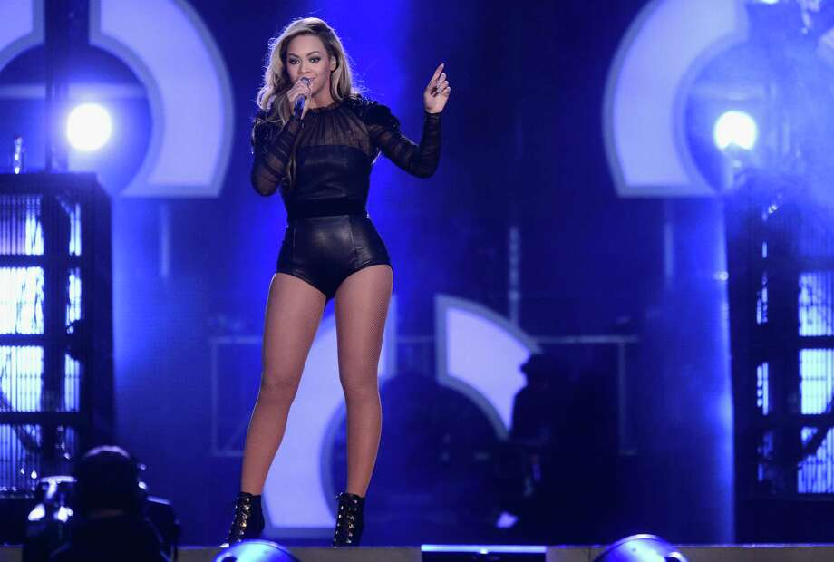 "Singer Beyonce performs on stage at the ""Chime For Change: The Sound Of Change Live"" Concert at Twickenham Stadium on June 1, 2013 in London, England. Chime For Change is a global campaign for girls' and women's empowerment founded by Gucci with a founding committee comprised of Gucci Creative Director Frida Giannini, Salma Hayek Pinault and Beyonce Knowles-Carter. Photo: Ian Gavan, Getty Images For Gucci / 2013 Getty Images"