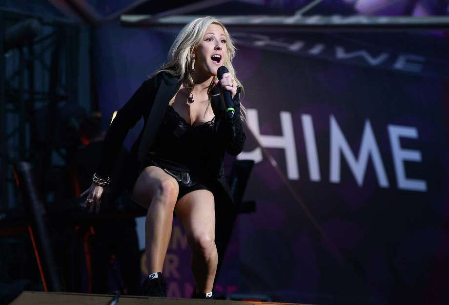"Ellie Goulding performs on stage at the ""Chime For Change: The Sound Of Change Live"" Concert at Twickenham Stadium on June 1, 2013 in London, England. Chime For Change is a global campaign for girls' and women's empowerment founded by Gucci with a founding committee comprised of Gucci Creative Director Frida Giannini, Salma Hayek Pinault and Beyonce Knowles-Carter. Photo: Ian Gavan, Getty Images For Gucci / 2013 Getty Images"