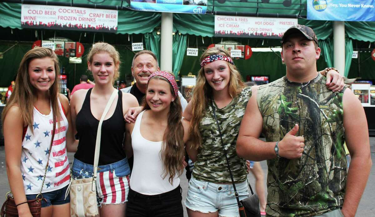 Were you Seen at the Brad Paisley concert with special guests Chris Young and Lee Brice at SPAC on Sunday, June 2, 2013?