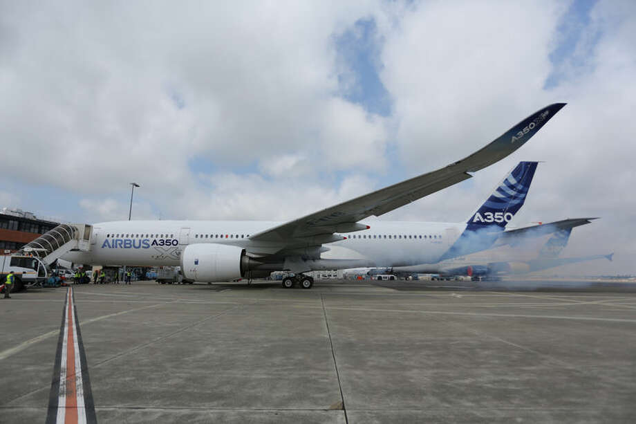 Airbus starts the engines of its A350 XWB for the first time. The company announced the engine start on June 3, 2013. Photo: Airbus