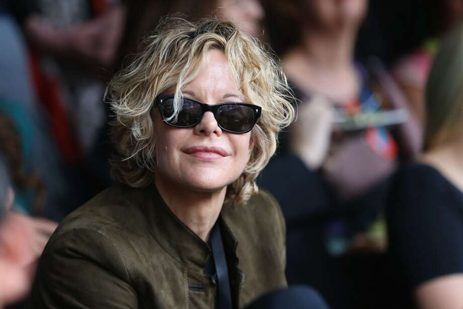 "Meg Ryan inside the Royal Box at the ""Chime For Change: The Sound Of Change Live"" Concert at Twickenham Stadium on June 1, 2013 in London, England. Chime For Change is a global campaign for girls' and women's empowerment founded by Gucci with a founding committee comprised of Gucci Creative Director Frida Giannini, Salma Hayek Pinault and Beyonce Knowles-Carter.  (Photo by Chris Jackson/Chime For Change/Getty Images for Gucci)"