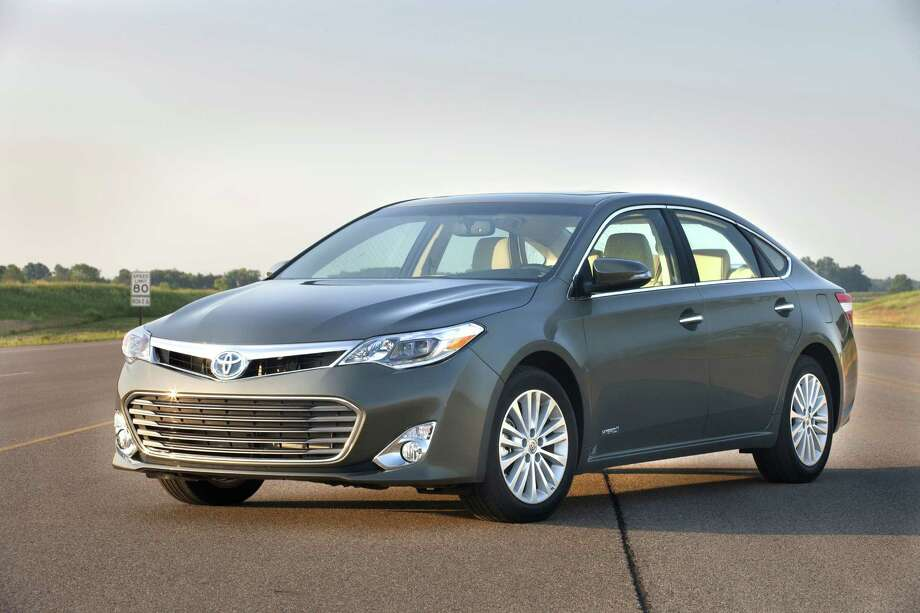 4. 2014 Toyota Avalon HybridMSRP: Starting at $35,555MPG: 40 city, 39 highwaySource: Insider Car News Photo: TOYOTA MOTOR SALES, New York Times / TOYOTA MOTOR SALES