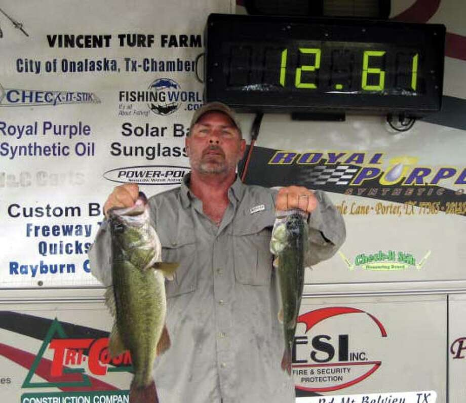 John Frazier managed to catch several keepers to finish in 1st place with 12.61 lbs.