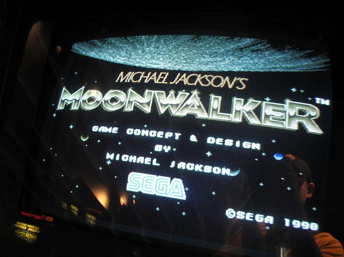 Michael Jackson's Moonwalker is one of the playable games at the Starbase Arcade in San Rafae. which has been around since 1982.