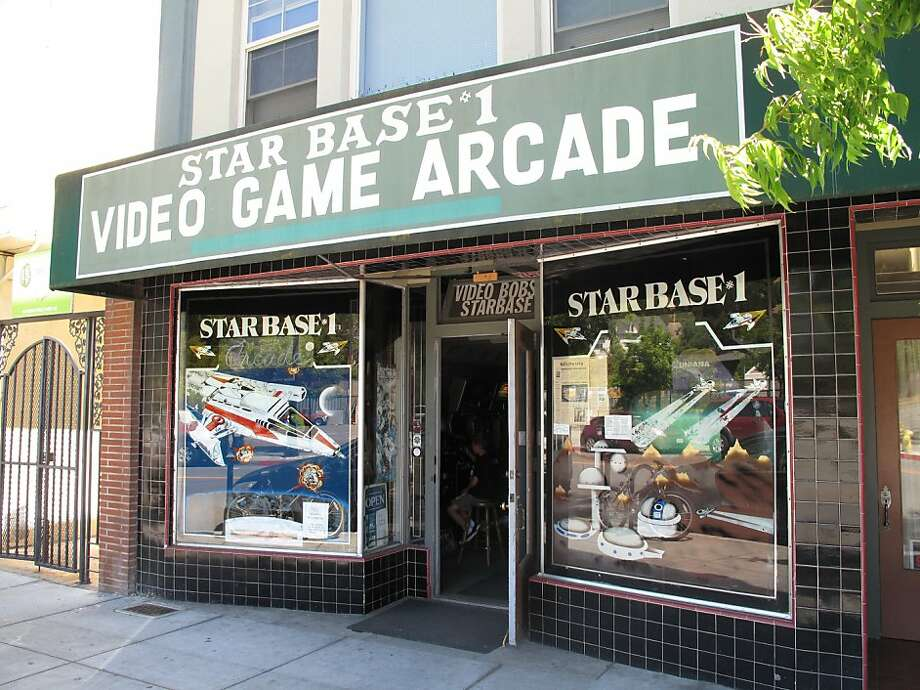 Starbase Arcade in San Rafael has been around since 1982, and retains a classic vibe, with games from the 1980s to 2000s. Photo: Peter Hartlaub, The Chronicle