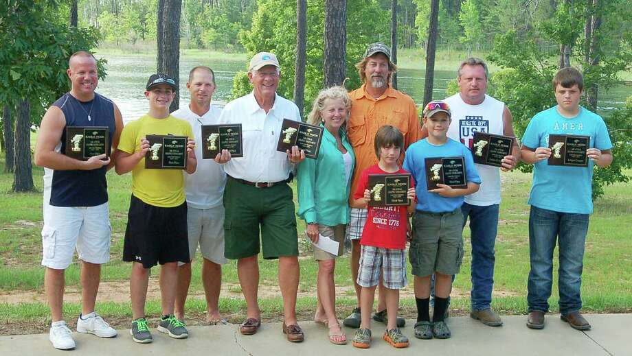 Winners of the 16th Annual Eagle Rock Crappie tournament