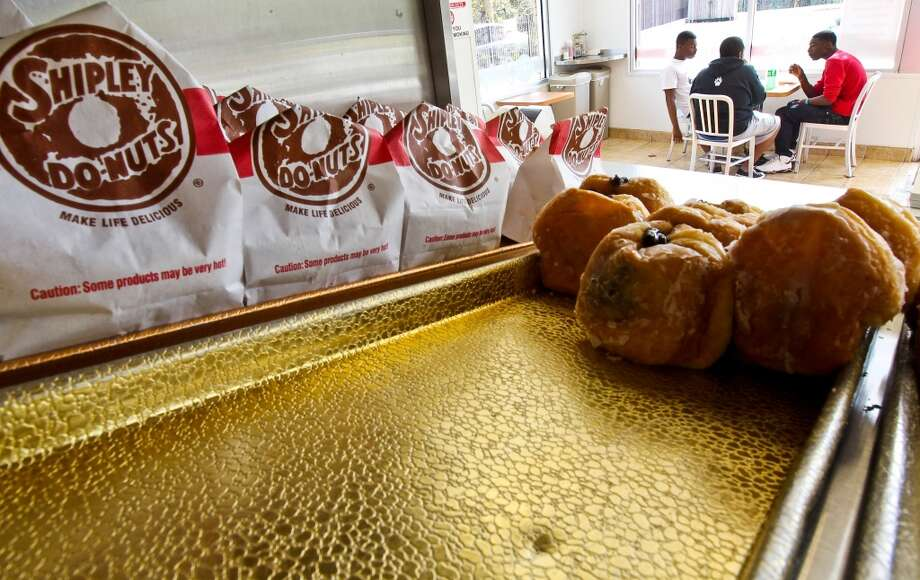 37 Shipley's glazed donuts