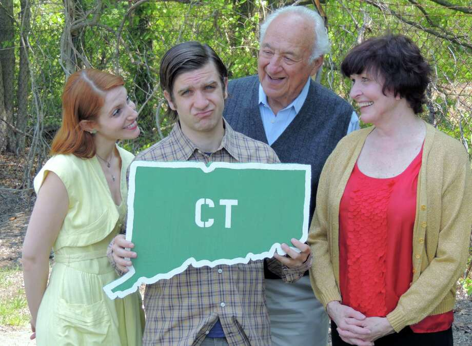 "Gwen Hollander, Harris Doran, Jerry Adler and Rebecca Hoodwin (left to right) are featured in ""I'm Connecticut"" the season opener at the Ivoryton Playhouse, through June23. Photo: Contributed Photo"