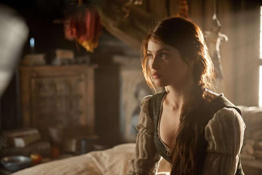 Gemma Arterton as Gretel.