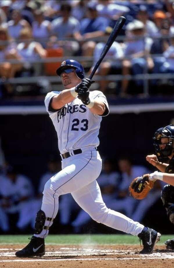 1992 - Phil Nevin  Picked: No. 1 Position: 3B School: Cal. State Fullerton Photo: Stephen Dunn , Allsport