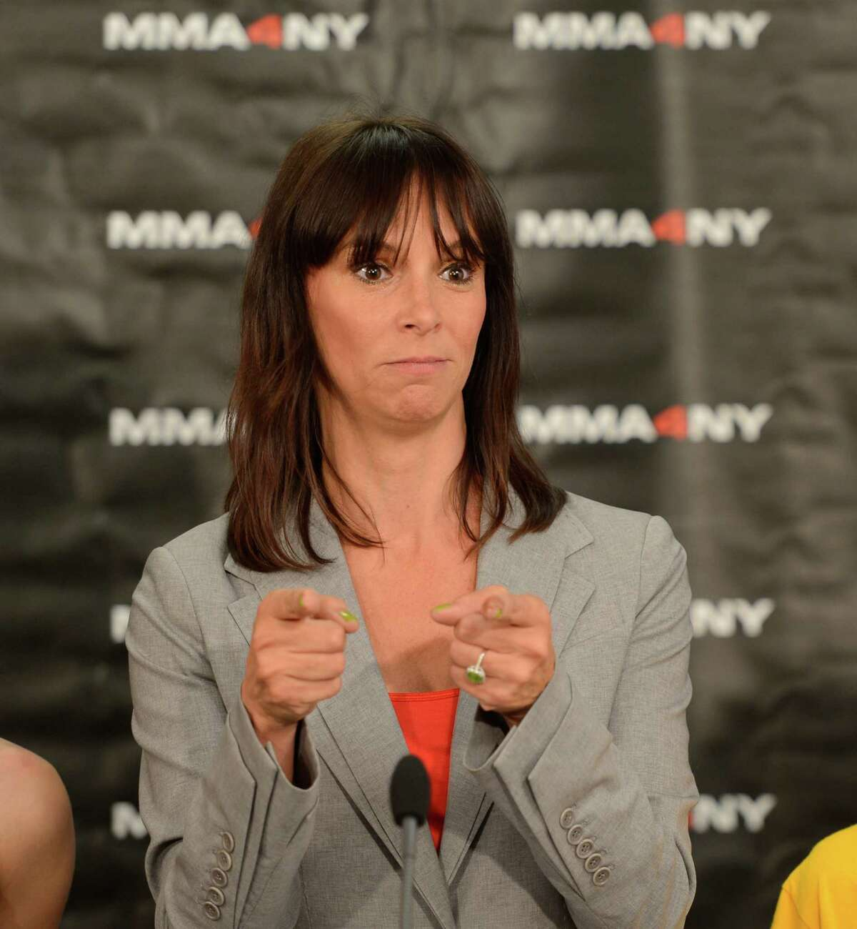 Jennifer Bonjean, legal commentator and MMA enthusiast,has joined NXIVM co-founder Keith Raniere's defense team. (Skip Dickstien/Times Union)
