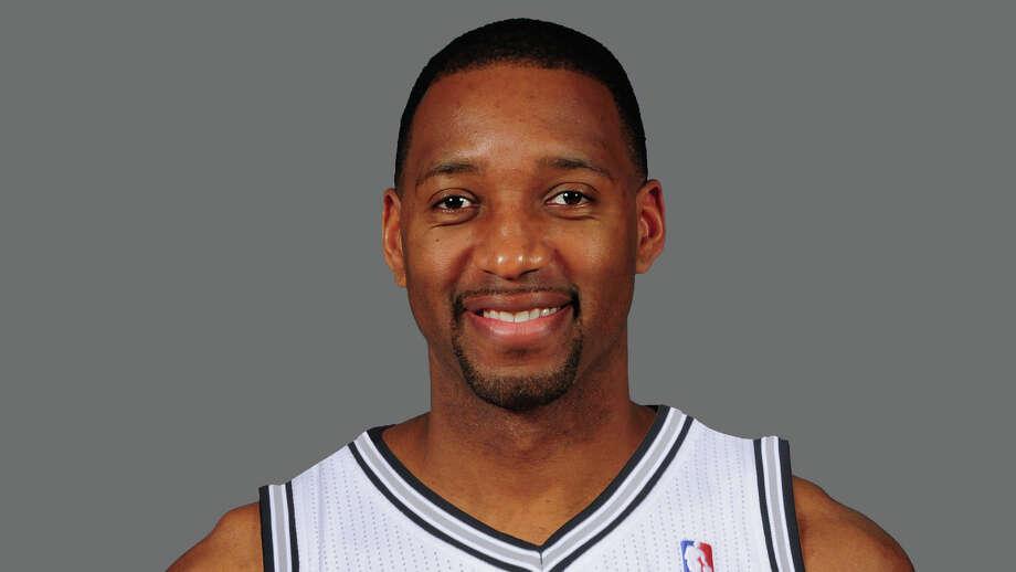 Tracy McGrady San Antonio Spurs  2013 NBA photo Photo: NA / ONLINE_YES