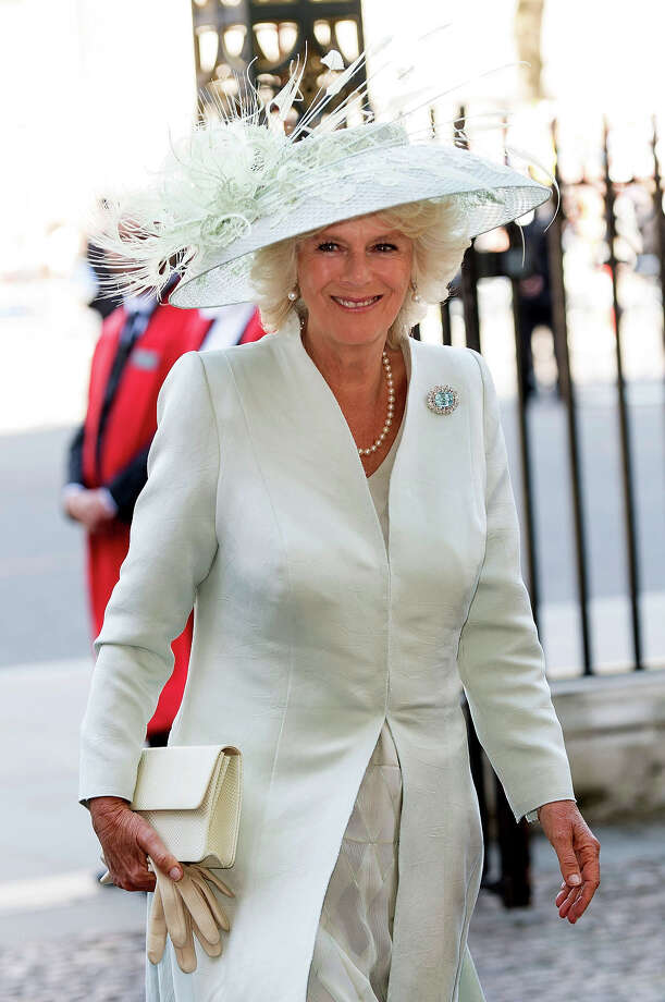Camilla, Duchess of Cornwall attends a service marking the 60th anniversary of the Queen's coronation at Westminster Abbey on June 4, 2013 in London, England. Photo: Mark Cuthbert, UK Press Via Getty Images / 2013 Mark Cuthbert