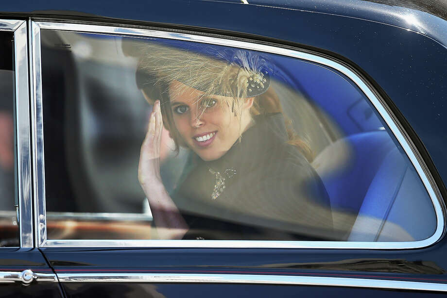 Princess Beatrice leaves a service of celebration to mark the 60th anniversary of the Coronation Queen Elizabeth II at Westminster Abbey on June 4, 2013 in London, England. The Queen's Coronation took place on June 2, 1953 after a period of mourning for her father King George VI, following her ascension to the throne on February 6, 1952. The event 60 years ago was the first time a coronation was televised for the public. Photo: Dan Kitwood, Getty Images / 2013 Getty Images