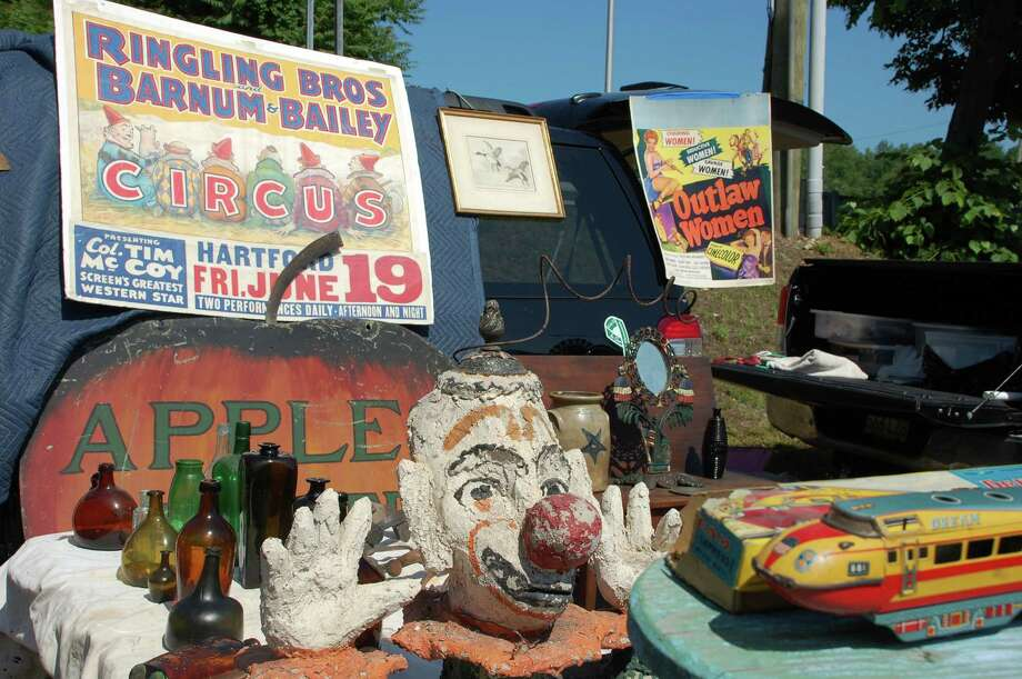 Circus memorabilia was among the good for sale at Sunday's first --- and what proved to be last --- session of the Westport Antiques & Vintage Market.  WESTPORT  NEWS, CT 6/2/13 Photo: Jarret Liotta / Westport News contributed