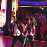"""DANCING WITH THE STARS -""""Episode 1609"""" - Five remaining couples took to the ballroom floor during the Semi-Finals on MONDAY, MAY 13 (8:00-10:01 p.m., ET). Each couple performed two routines, inching their way one step closer to the coveted mirror ball trophy. Last week viewers were asked to vote via twitter on a new style of dance for each couple to perform; this week the couples performed their chosen style, including the Flamenco, Charleston, Afro Jazz, Lindy Hop and Hip Hop. Each couple was also be challenged to take on a ballroom or Latin style dance they have yet to perform this season.  (ABC/Adam Taylor) VAL CHMERKOVSKIY, ZENDAYA"""