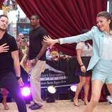 """GOOD MORNING AMERICA - The winners of """"Dancing With the Stars,"""" are guests on """"Good Morning America,"""" 5/22/13, airing on the ABC Television Network.  (ABC/Fred Lee) VAL CHMERKOVSKIY, JACOBY JONES, ZENDAYA COLEMAN"""