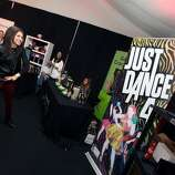 IMAGE DISTRIBUTED FOR UBISOFT - Zendaya Coleman is seen at Ubisoft's Just Dance 4 and The Hip Hop Experience Gifting Suite at the American Music Awards at the Nokia Theater on Saturday Nov. 17, 2012 in Los Angeles. (Photo by Casey Rodgers/Invision for Ubisoft/AP Images)